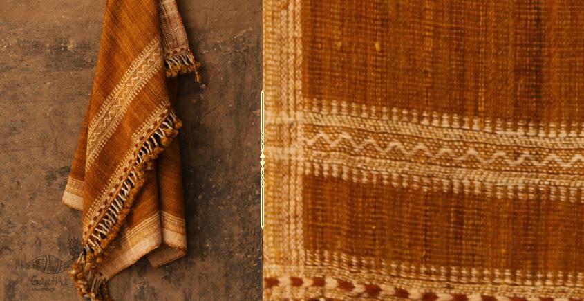 Salt Deserts of Kutch ❅ Hand spun ❅ Raw woolen Shawl ❅ B