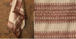 Salt Deserts of Kutch ❅ Hand spun ❅ Raw woolen Shawl ❅ I