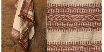 Salt Deserts of Kutch ❅ Hand spun ❅ Raw woolen Shawl ❅ I