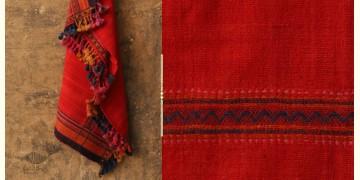 Salt Deserts of Kutch ❅ Hand spun ❅ Raw woolen Shawl ❅ A