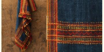 Salt Deserts of Kutch ❅ Hand spun ❅ Raw woolen Shawl ❅ D