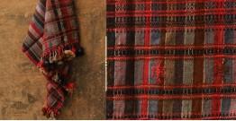 Salt Deserts of Kutch ❅ Hand spun ❅ Raw woolen Shawl ❅ O