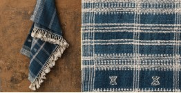 Salt Deserts of Kutch ❅ Hand spun ❅ Raw woolen Shawl ❅ R