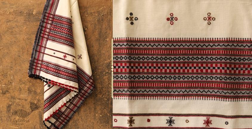 Winter Hop ⚹ Handwoven Woolen Shawl ❅ 5