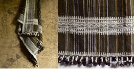 Salt Deserts of Kutch ✠ Hand spun ✠ Raw woolen Shawl ✠ 2