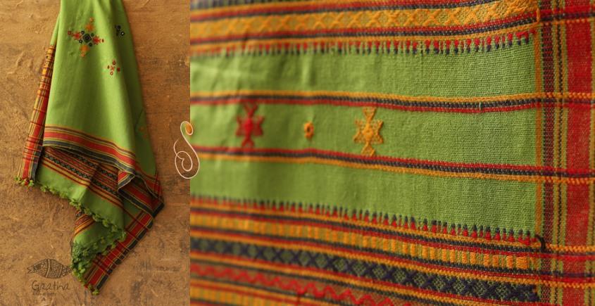 Winter Hop ⚹ Handwoven Woolen Shawl ❅ C