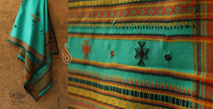 Winter Hop ⚹ Handwoven Woolen Shawl ❅ K