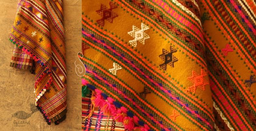 Winter Hop ⚹ Full Bharat Shawl { Dhabro ❅ woolen } - V