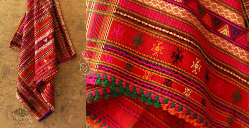 Winter Hop ⚹ Full Bharat Shawl { Dhabro ❅ woolen } - Z
