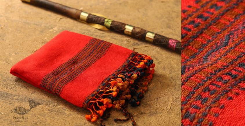 From the grasslands ❅ Woolen shawl {  द }