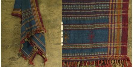 Salt Deserts of Kutch ✠ Hand spun ✠ Raw woolen Shawl ✠ 10
