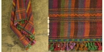 Salt Deserts of Kutch ✠ Hand spun ✠ Raw woolen Shawl ✠ 5