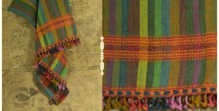 Salt Deserts of Kutch ✠ Hand spun ✠ Raw woolen Shawl ✠ 6