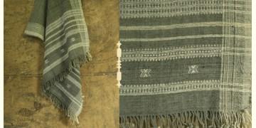 Salt Deserts of Kutch ✠ Hand spun ✠ Raw woolen Shawl ✠ 9