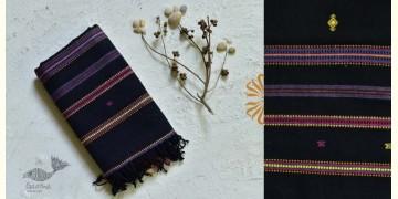 Pra . परा  ༄ Handwoven Bhujodi Kala Cotton Dupatta ༄ 1