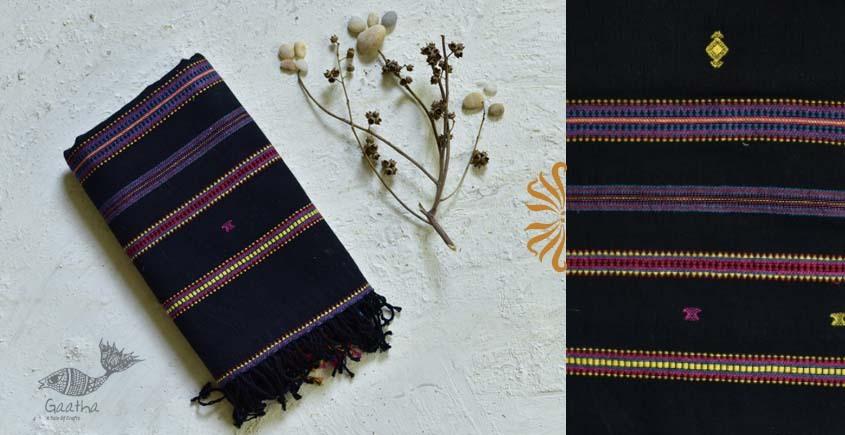shop handwoven kala cotton bhujodi dupatta