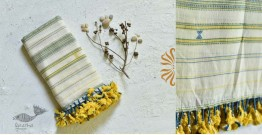 Pra . परा ༄ Handwoven Bhujodi Kala Cotton Dupatta ༄ 11