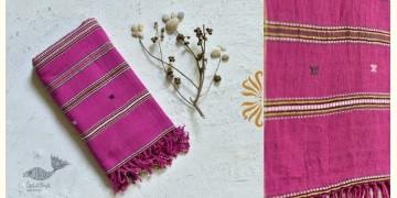 Pra . परा ༄ Handwoven Bhujodi Kala Cotton Dupatta ༄ 3