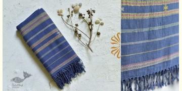 Pra . परा ༄ Handwoven Bhujodi Kala Cotton Dupatta ༄ 6