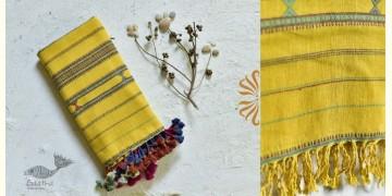 Pra . परा ༄ Handwoven Bhujodi Kala Cotton Dupatta ༄ 7
