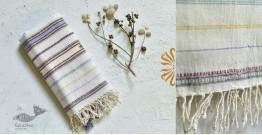 Pra . परा ༄ Handwoven Bhujodi Kala Cotton Dupatta ༄ 9