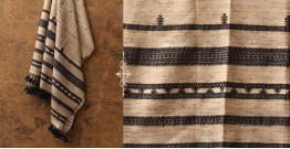Sharad . शरद ⚹ Handwoven Merino Wool Tussar Shawl ❅ 7