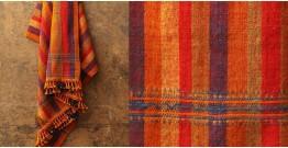 Salt Deserts of Kutch ❅ Hand spun ❅ Raw woolen Shawl ❅ T
