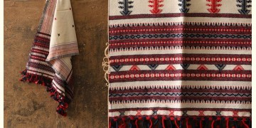 Salt Deserts of Kutch ❅ Raw Woolen Stole ❅ 10