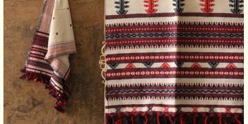 Salt Deserts of Kutch ❅ Raw Woolen Stole ❅ 10