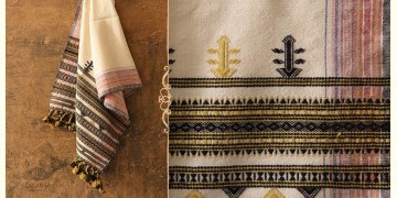Salt Deserts of Kutch ❅ Raw Woolen Stole ❅ 3
