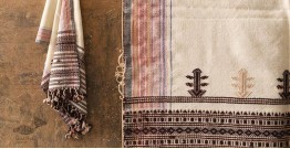 Salt Deserts of Kutch ❅ Raw Woolen Stole ❅ 4