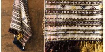 Salt Deserts of Kutch ❅ Raw Woolen Stole ❅ 7