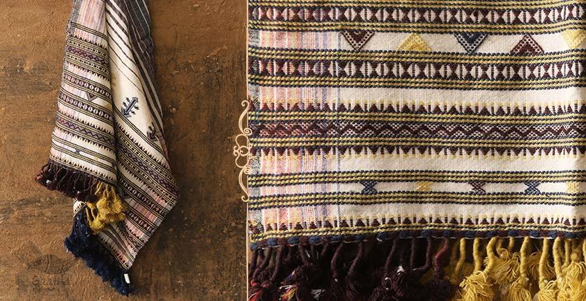 shop online unique Handwoven Woolen Stole