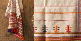 Salt Deserts of Kutch ❅ Raw Woolen Stole ❅ 8