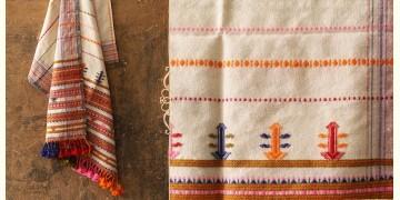 Salt Deserts of Kutch ❅ Raw Woolen Stole ❅ 8