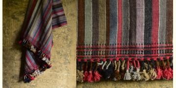 Salt Deserts of Kutch ✠ Hand spun ✠ Raw woolen Shawl ✠ 1