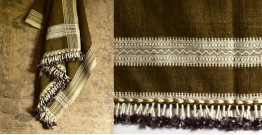 Salt Deserts of Kutch ✠ Hand spun ✠ Raw woolen Shawl ✠ 3