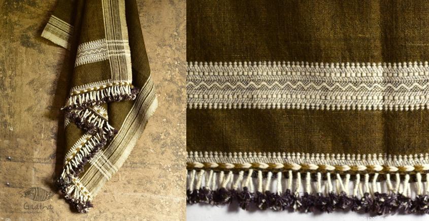 full size handwoven raw woolen shawl