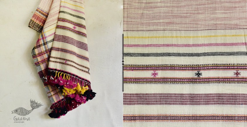 handwoven kala cotton bhujodi dupatta 2