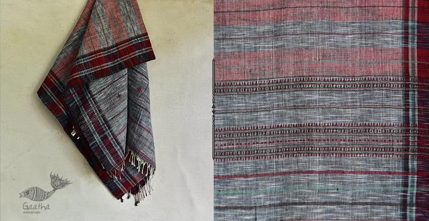 handwoven kala cotton bhujodi dupatta