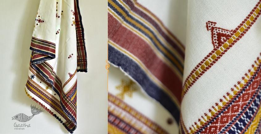 Sevanti   सेवंती ❥ Woolen Mirror Work Shawl ❥ 5