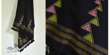 सेवंती ❥ Bhujodi Woolen Stole ❥ 13