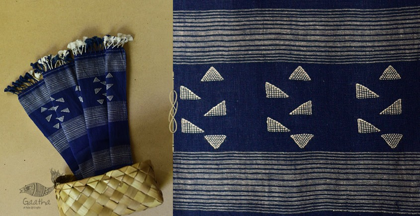 Sevanti | सेवंती ❥ Bhujodi Organic Kala Cotton Stole ❥ 22