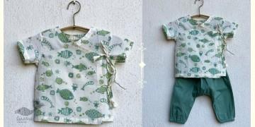 Chubby | Organic Cotton . Kids Garment ★ 1 ★ Fish Print
