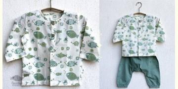 Chubby | Organic Cotton . Kids Garment ★ 2 ★ Fish Print