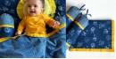 shop Kids Organic Gift Set (Dohar + 2 Zoo Bolster)