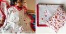 shop Kids Organic Gift Set (Dohar + Kapok Pillow - Koi)