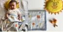 shop Kids Organic Gift Set (Dohar + Mustard Seed Pillow + Maracas - Dhruvtara)