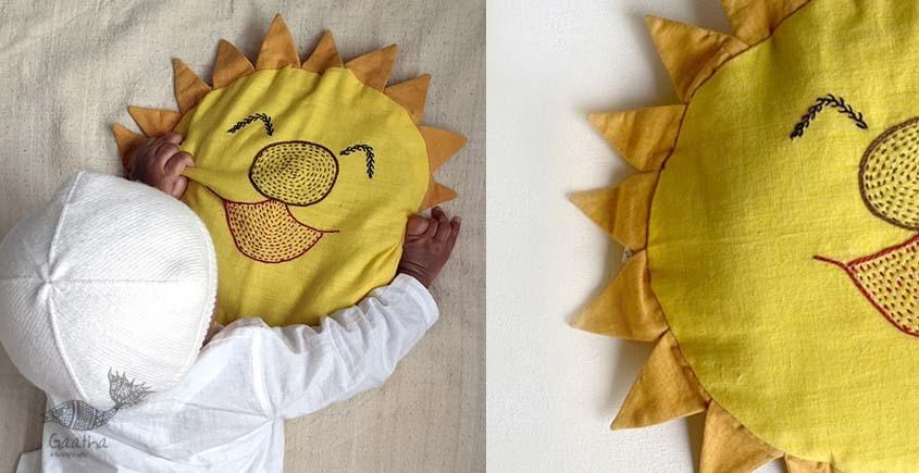 shop Sun Mustard Seed Pillow