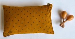 Organic Cotton ★ Kids Gift Set (Raidana Print Kapok Pillow + Maracas) ★ 21
